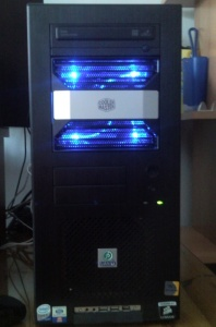 This is the case after the installation of the HDD module